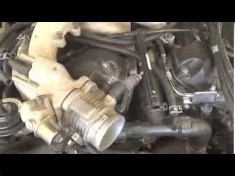 lincoln ls   plenum manifold pcv valve cover