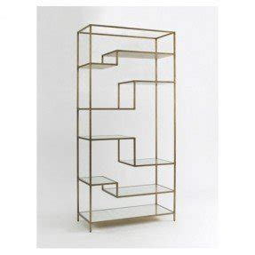 Glass Etagere Display by Glass Shelf Etagere Foter