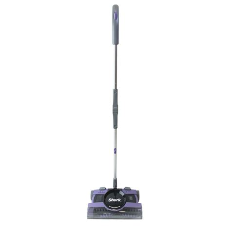 shop shark rechargeable battery carpet and surface floor sweeper at lowes
