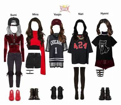 Polyvore Outfits Clothes Kpop Korean Bags Royal