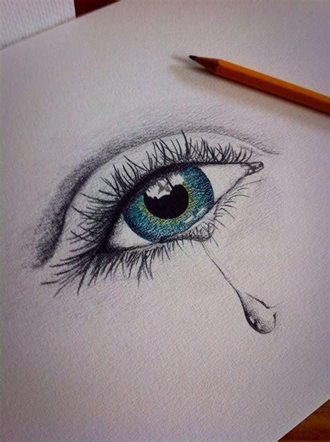 weinendes auge zeichnen zeichnen pinterest weinen