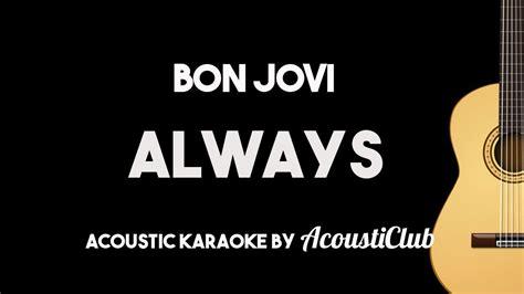 Always (acoustic Guitar Karaoke Instrumental
