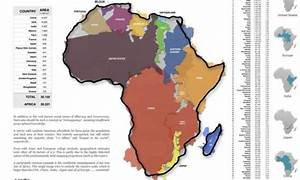 True size of Africa: continent is as big as China, India ...