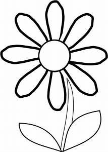 Tulip Clipart Black And White | Clipart Panda - Free ...