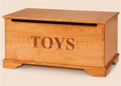 maple wood toy chest  dutchcrafters amish furniture