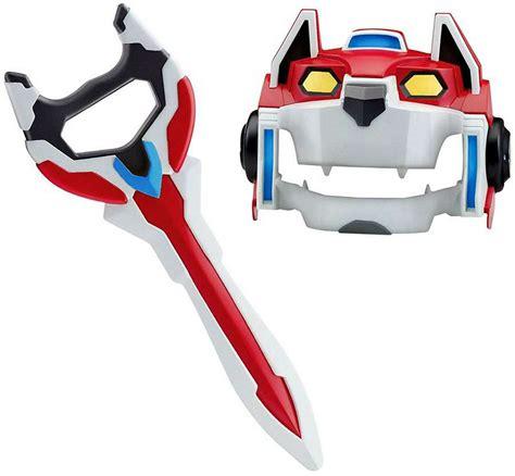 defender voltron legendary weapon lion mask gear