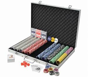 Poker Set Kaufen : vidaxl poker set mit laserchips aluminium g nstig kaufen ~ Eleganceandgraceweddings.com Haus und Dekorationen