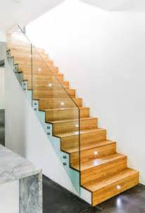 foxy glass stair railings design feats wooden staircase