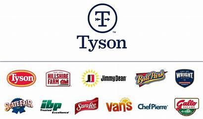 Tyson Brand Foods Logos Follow Brands Identity