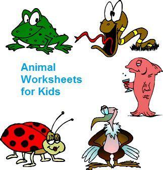 animal worksheet   animal homes worksheet
