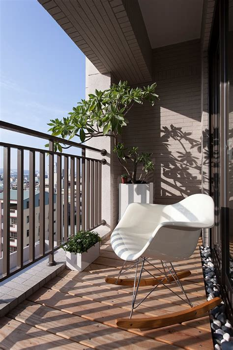 small apartment patio furniture contemporary apartment in taiwan by fertility design