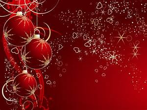 Red and white christmas wallpaper