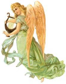 Vintage Angel Clip Art Free