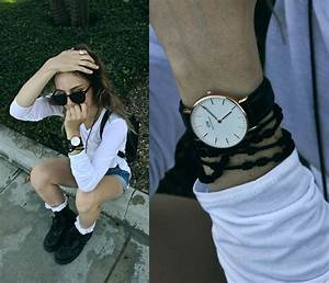 Waters Riley - Daniel Wellington Watch, Shalex Crochet ...