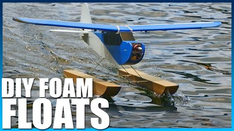Diy Pontoon Floats by Diy Waterproof Plane Floats Flite Test Rcreviews Lt