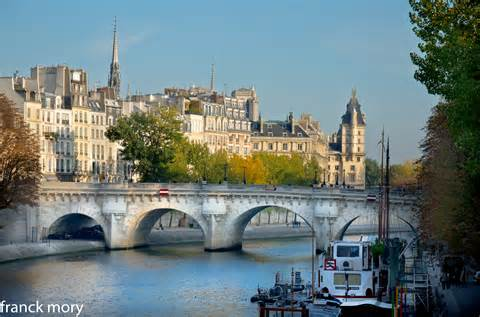La Seine Paris By Moryfranck On Deviantart