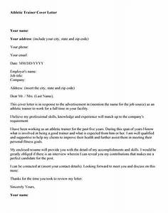 cover letter for strength and conditioning coach - athletic training cover letter source