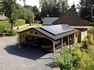Construire Un Carport : construire un abri de jardin en bois soi meme ~ Premium-room.com Idées de Décoration