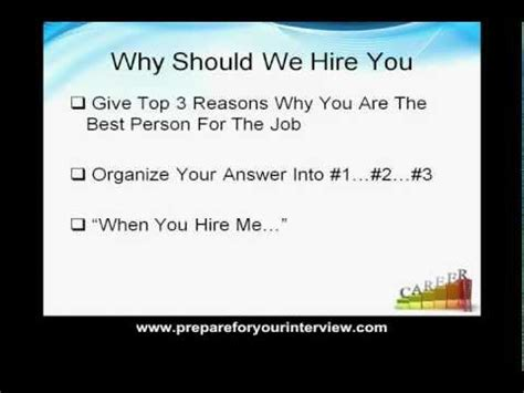 Why Should We Hire You Answers by How To Get A Call Center Without Experience Doovi