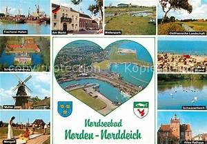 Markt De Ostfriesland : ak ansichtskarte norddeich ostfriesland fischerei hafen markt wellenpark muehle schloss ~ Orissabook.com Haus und Dekorationen
