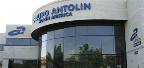 grupo antolin  set  usd  million factory