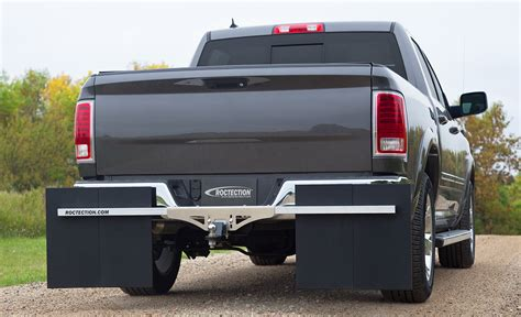 roctection hitch mounted mud flaps universal protection