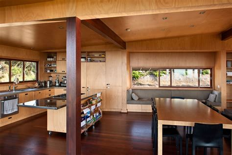 contemporary kitchen dining room designs rustic home tutukaka house located in tutukaka 8316