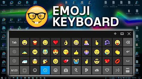 [pc] Windows 10 Emoji Keyboard 😀🤣😍🤓👸🍗🚑💘