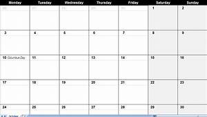 4 Best Images Of Monthly Calendar Large Printable