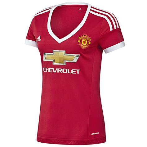 Man United's new Adidas home kit in all its glory ...
