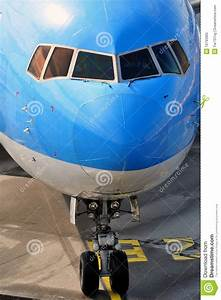Passenger Airplane Nose Royalty Free Stock Photo