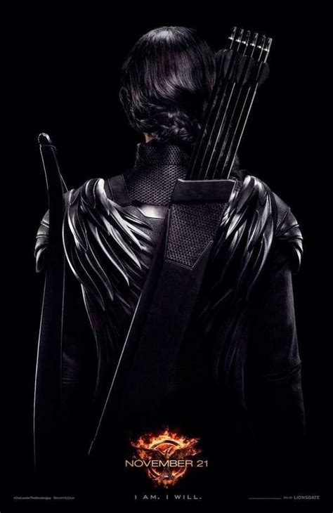 Katniss Shows off Her Back in New Poster for THE HUNGER ...