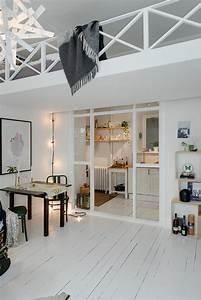 le parquet blanc une jolie tendance deco archzinefr With parquet peint blanc