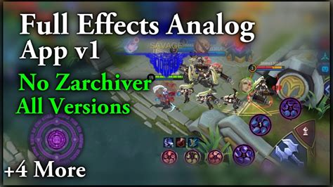 (new) Full Effects Analog Controller [mobile Legends Analo