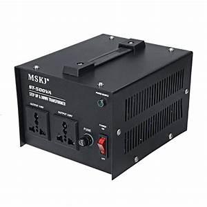 500w Ac220v To 110v    Ac110v To 220v Voltage Converter