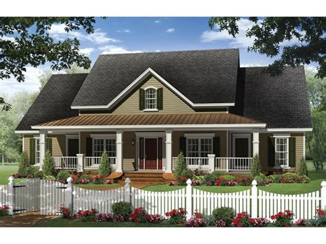 small one house plans with porches one small country house plans
