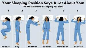 What Does Your Sleeping Positions Say About Your ...