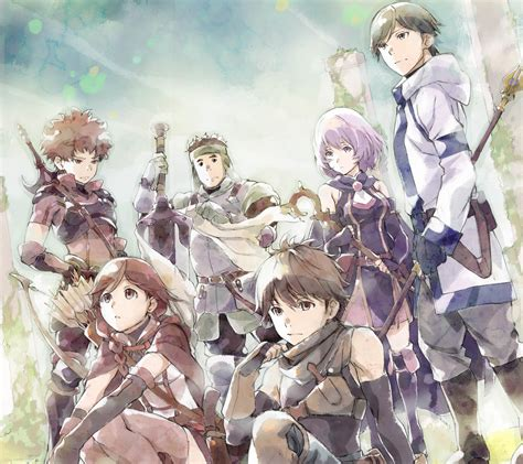 Smartphone Anime Wallpaper - grimgar of and ash anime smartphone wallpapers