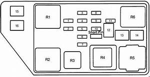 95 Camry Fuse Relay Box Diagram