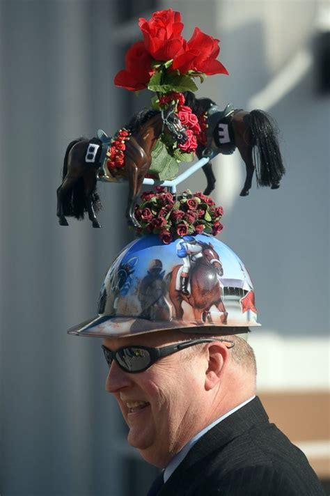 kentucky derby  craziest hats   dressed