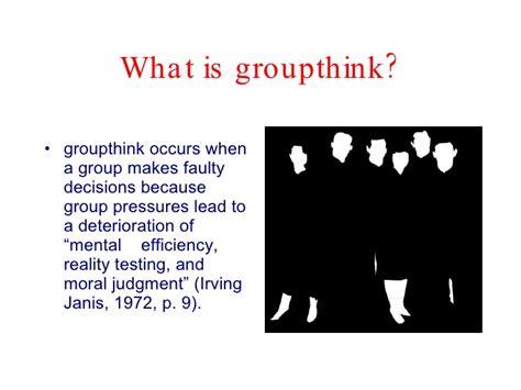 groupthink presentation
