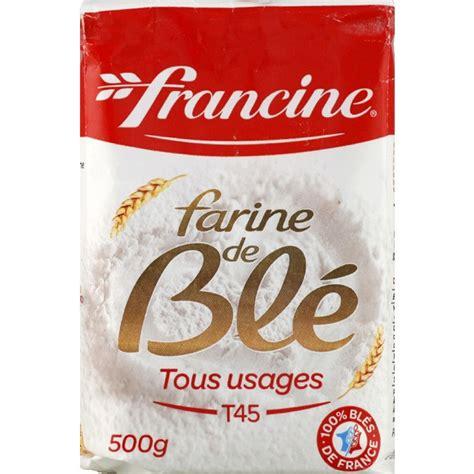 cuisine fabrication francine farine de blé tous usages monoprix fr