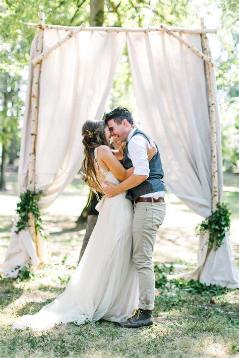 Rustic Summer Wedding From Maria Lamb Photography