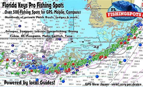 keys florida fishing spots marathon fl gps magimages map key maps largo west google county monroe earth