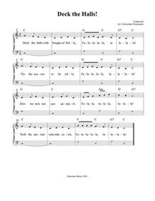 deck the halls sheet and song for sheet songs sheet