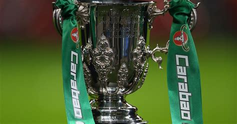 Carabao Cup second round draw ball numbers confirmed as ...