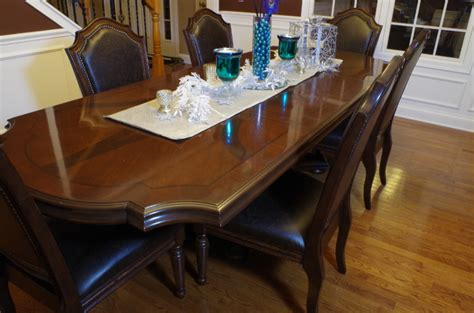 chagrin valley custom furniture dining room table refinish