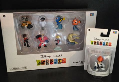 dan the pixar fan pixar collection mini figurines