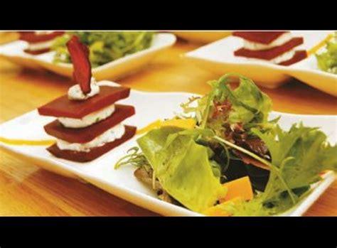 recette cuisine gastronomique simple millefeuille de betterave mousse de chèvre frais recette