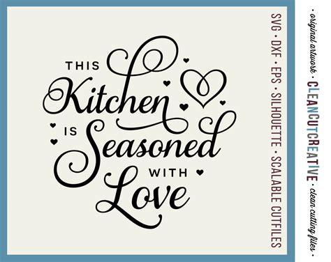 Download free svg vectors for commercial use. SVG Kitchen Seasoned with Love svg apron towel kitchen svg ...